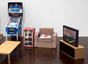 TV & Cabinet Desktop Toy